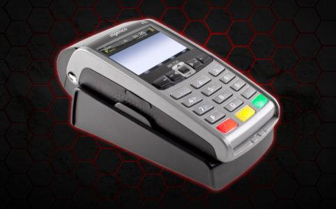 Nowoczesny terminal do płacenia kartą