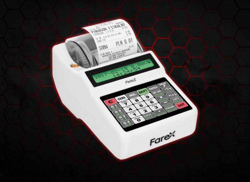 Tania kasa fiskalna od Farex